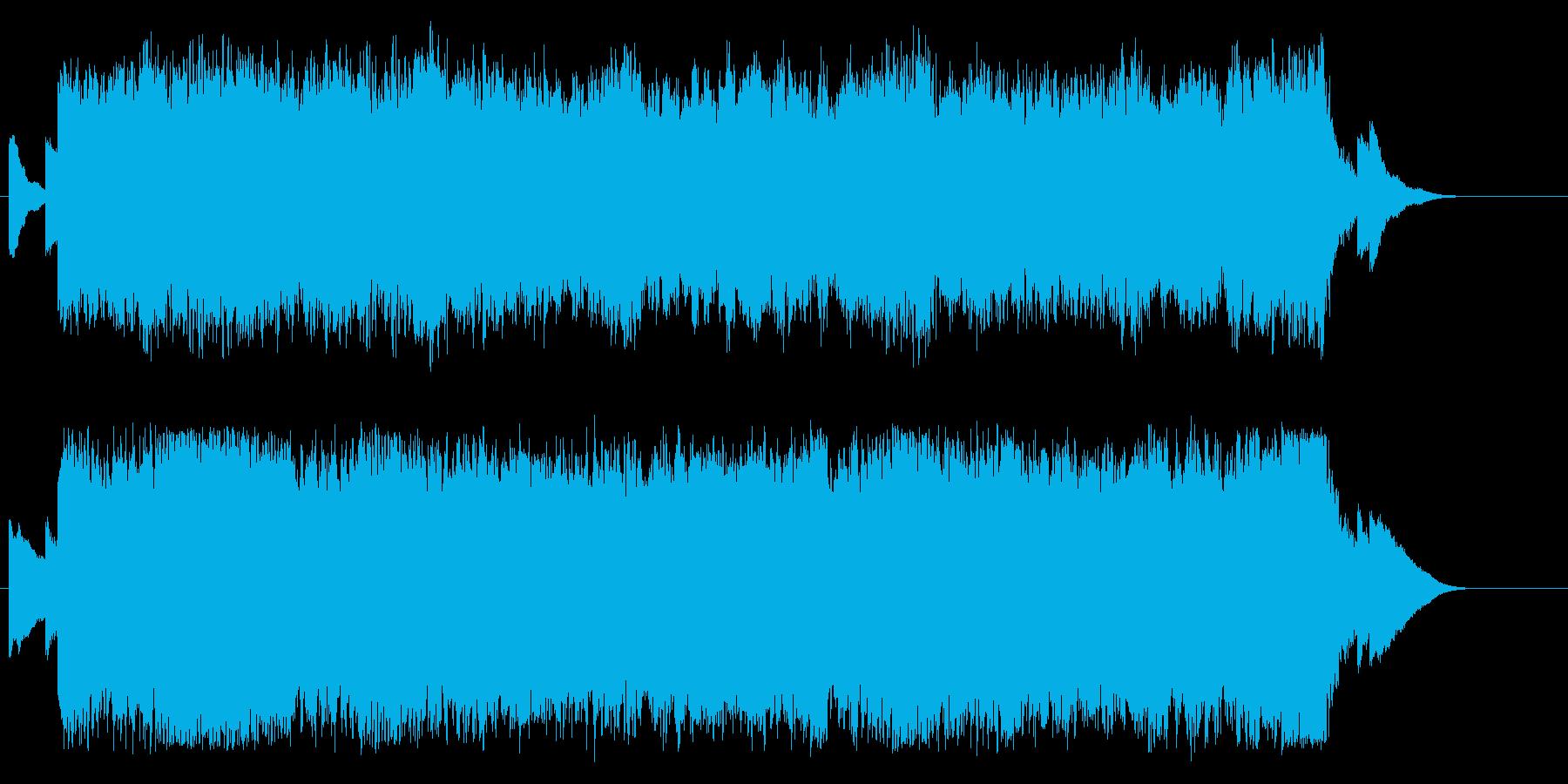 安らか ゆったり エンディング 感動の再生済みの波形