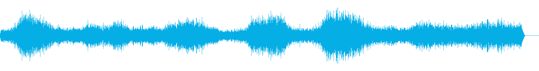 ビーチ-イパネマ-声-重い強い波-...の再生済みの波形