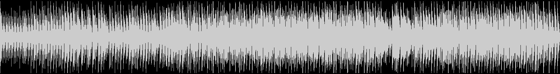 カートゥーン系のリコーダー劇伴※ループ版の未再生の波形