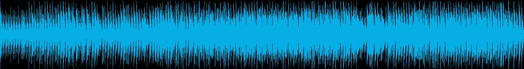 カートゥーン系のリコーダー劇伴※ループ版の再生済みの波形