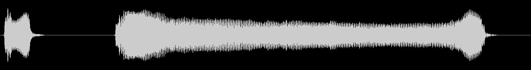 ピッピ―!◇ホイッスル、笛(速度・遅め)の未再生の波形