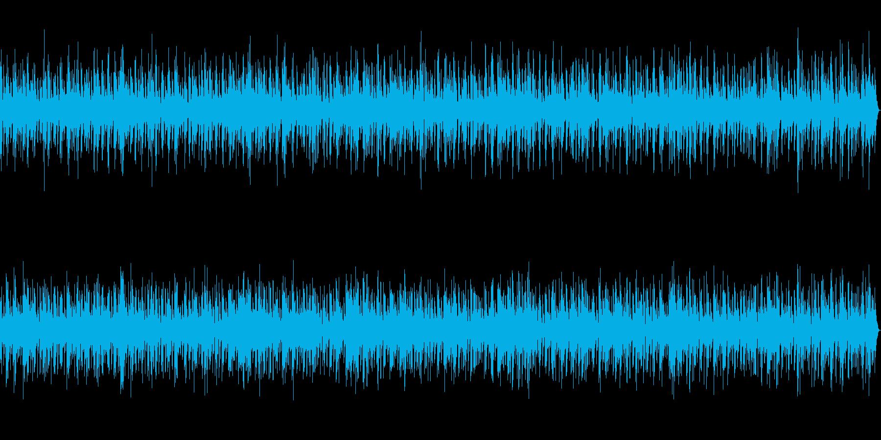 優しい・かわいい癒やし睡眠・作業音楽の再生済みの波形
