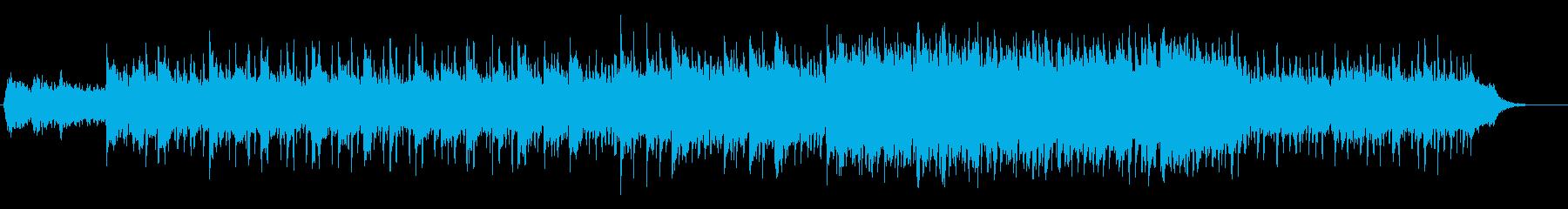 ふわーっとしたイージーリスニングの再生済みの波形