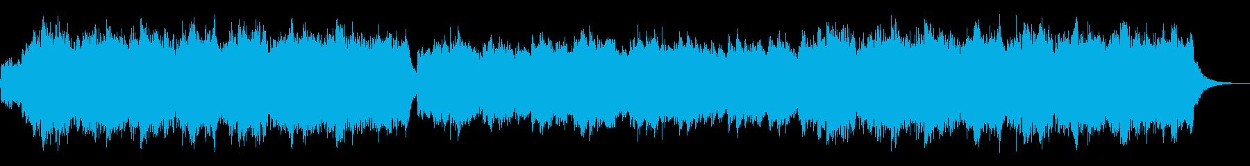 中世RPGのお城をイメージしたBGMの再生済みの波形