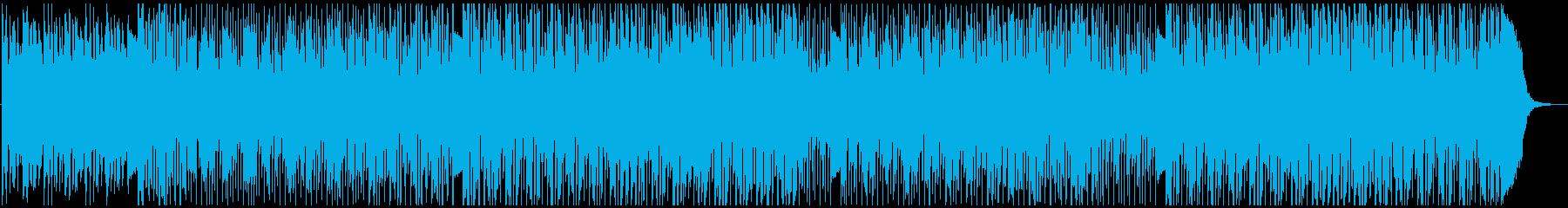 ポップ テクノ テクノロジー ドラムの再生済みの波形