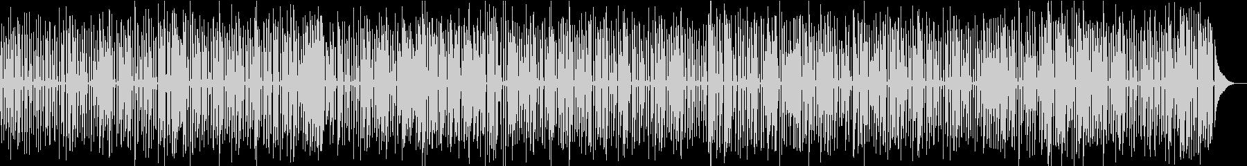レトロなアニメに合う楽しいジャズピアノの未再生の波形