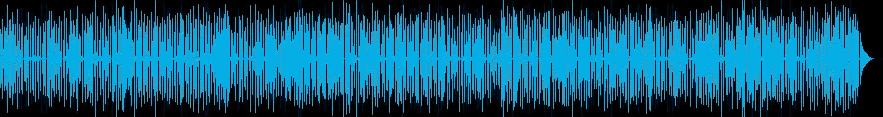 レトロなアニメに合う楽しいジャズピアノの再生済みの波形
