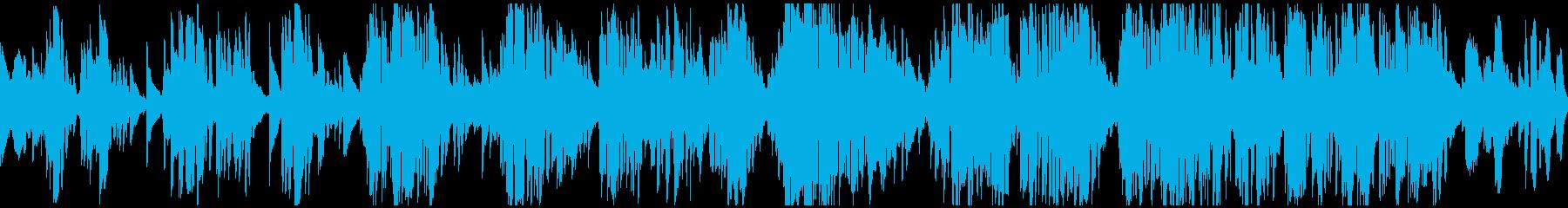紳士的でダンディな低音バラード※ループ版の再生済みの波形