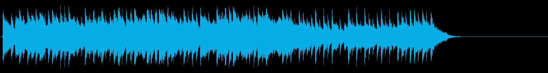 爽快に疾走するポップ(サビ~イントロ)の再生済みの波形