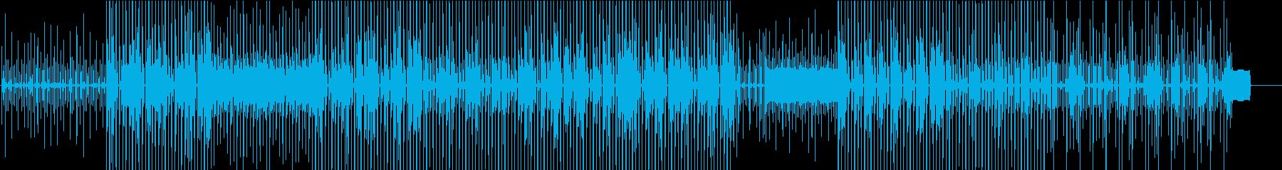 リラックスした雰囲気のヒックホップ...の再生済みの波形