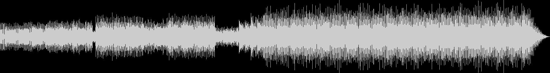 中近東風ハウスミュージックの未再生の波形