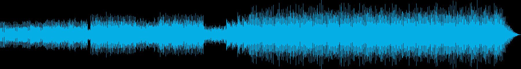 中近東風ハウスミュージックの再生済みの波形