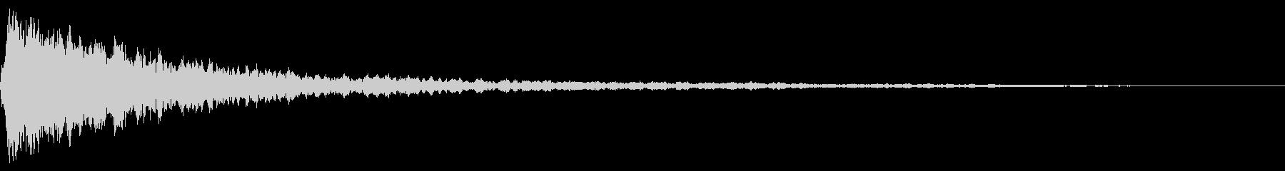 ホラー系アタック音48の未再生の波形