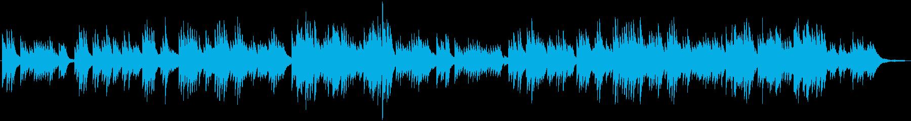 旅番組のOP風 優しいピアノソロの再生済みの波形