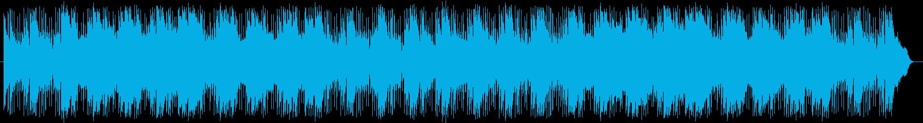 モンハン「ココット村」風民族楽曲の再生済みの波形