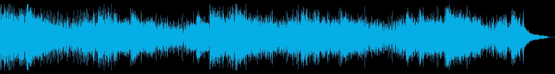 不思議な感触の捻れたIDMの再生済みの波形