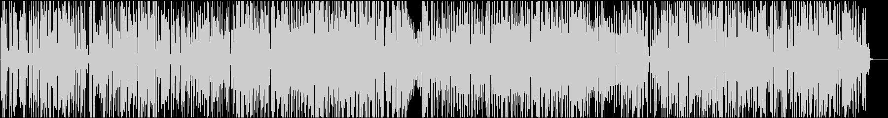 オープニング印象大の爽やかピアノファンクの未再生の波形