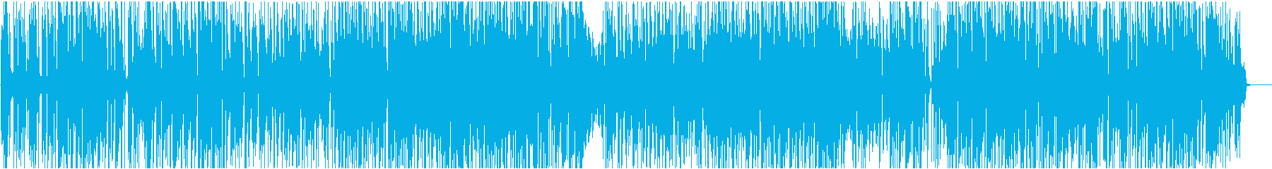 オープニング印象大の爽やかピアノファンクの再生済みの波形