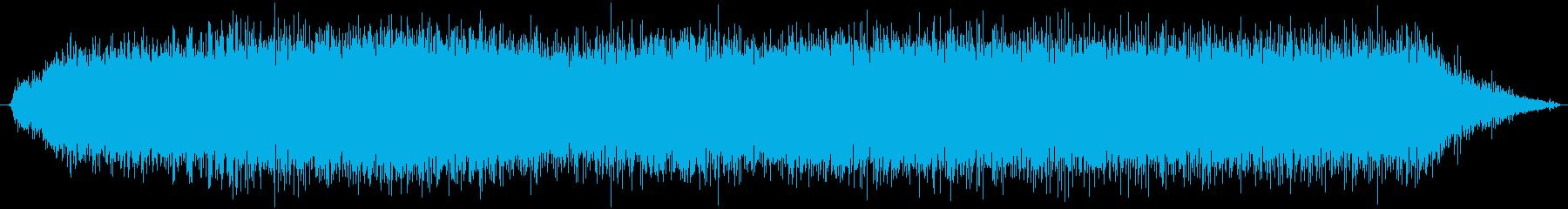 小さな輪郭サンダー:開始、実行、シ...の再生済みの波形