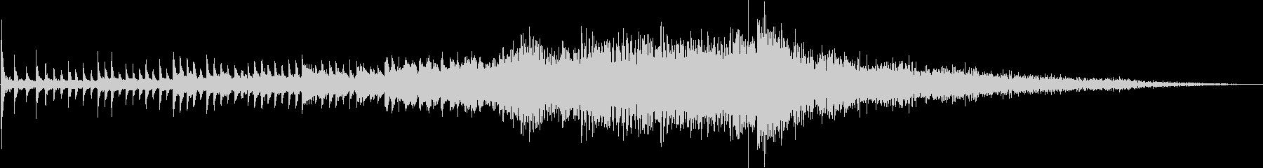 ピアノ:サウンドボードの弦で劇的な...の未再生の波形