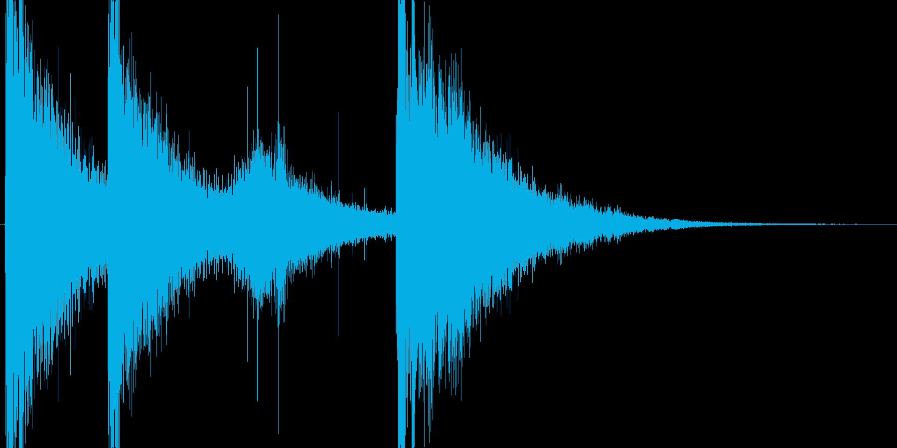 強力な氷魔法をイメージした効果音ですの再生済みの波形