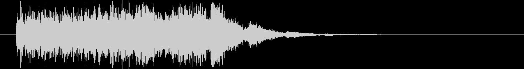 場面転換の音_ヒュィーンの未再生の波形