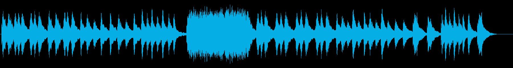 物語を語るようなハープの旋律の再生済みの波形