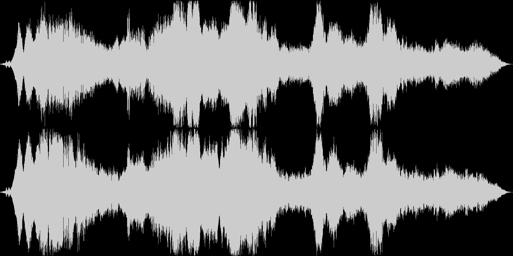 ドローン 美しい破壊01の未再生の波形