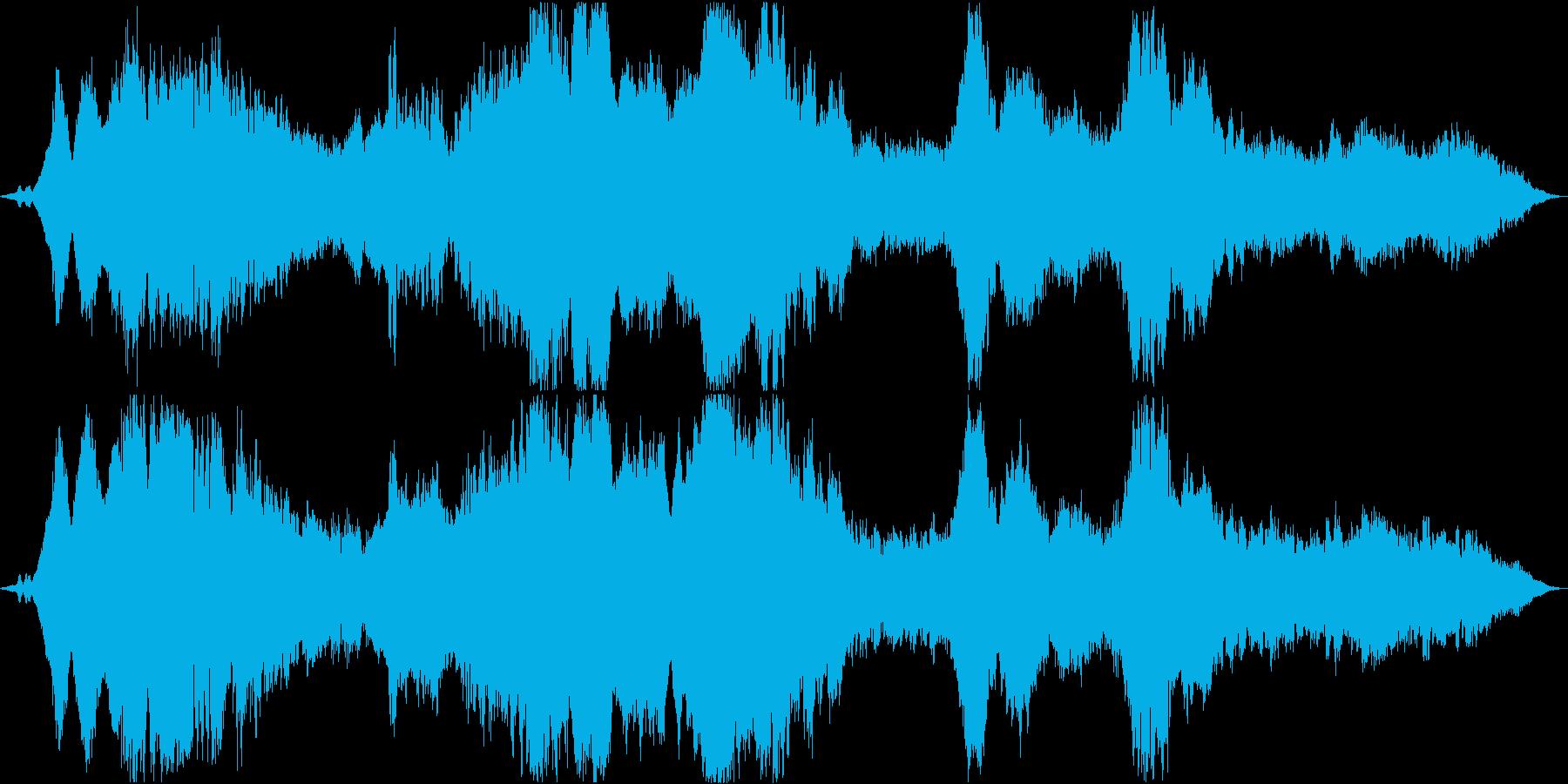 ドローン 美しい破壊01の再生済みの波形