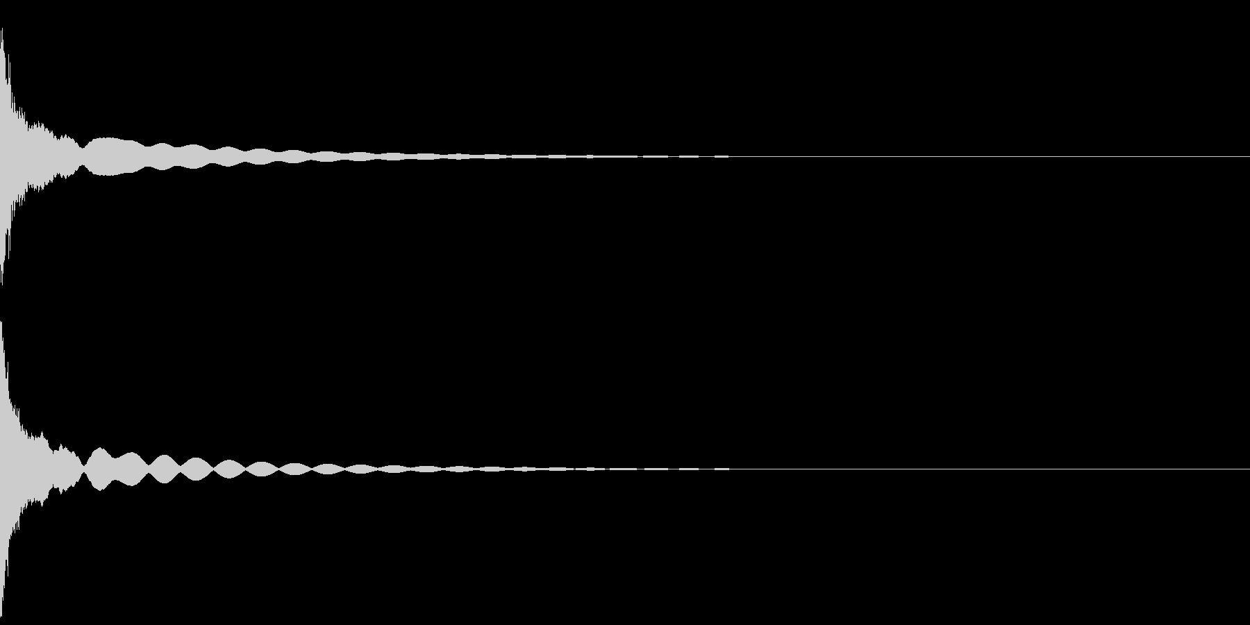 【生録音】チリーン(フィンガーシンバル)の未再生の波形