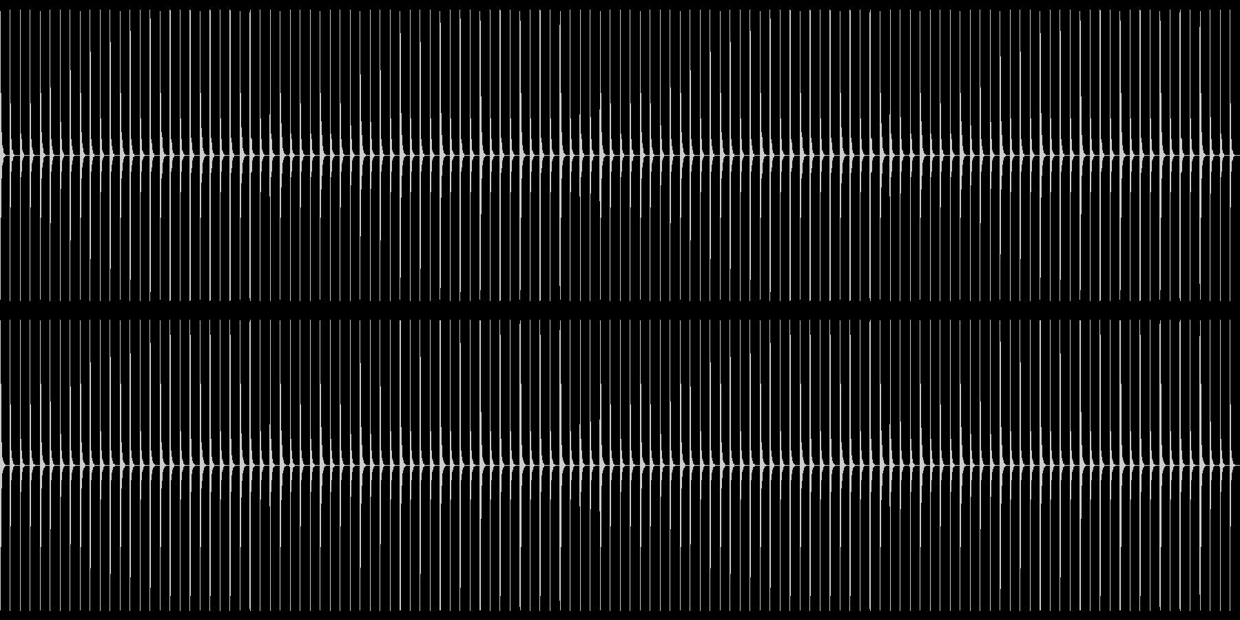 生音クリック01-120-AccOnの未再生の波形