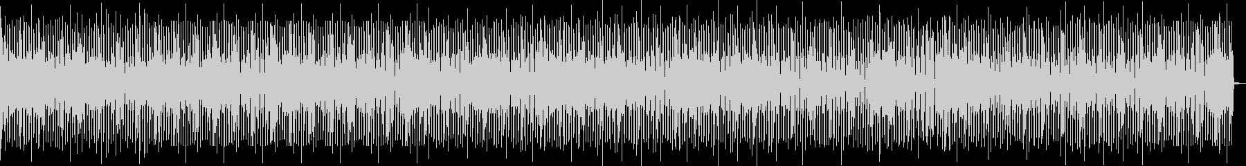 幼児の歩く姿をピアノで描写の未再生の波形