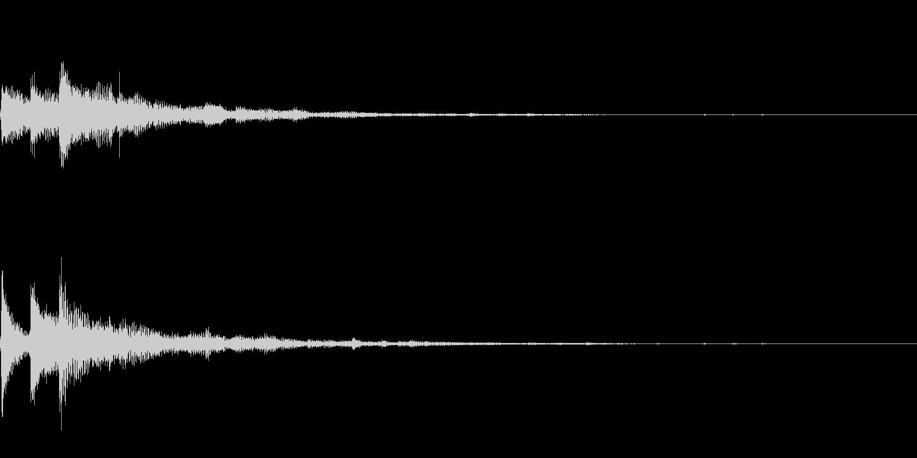 ぽろん♪(連鎖06)の未再生の波形