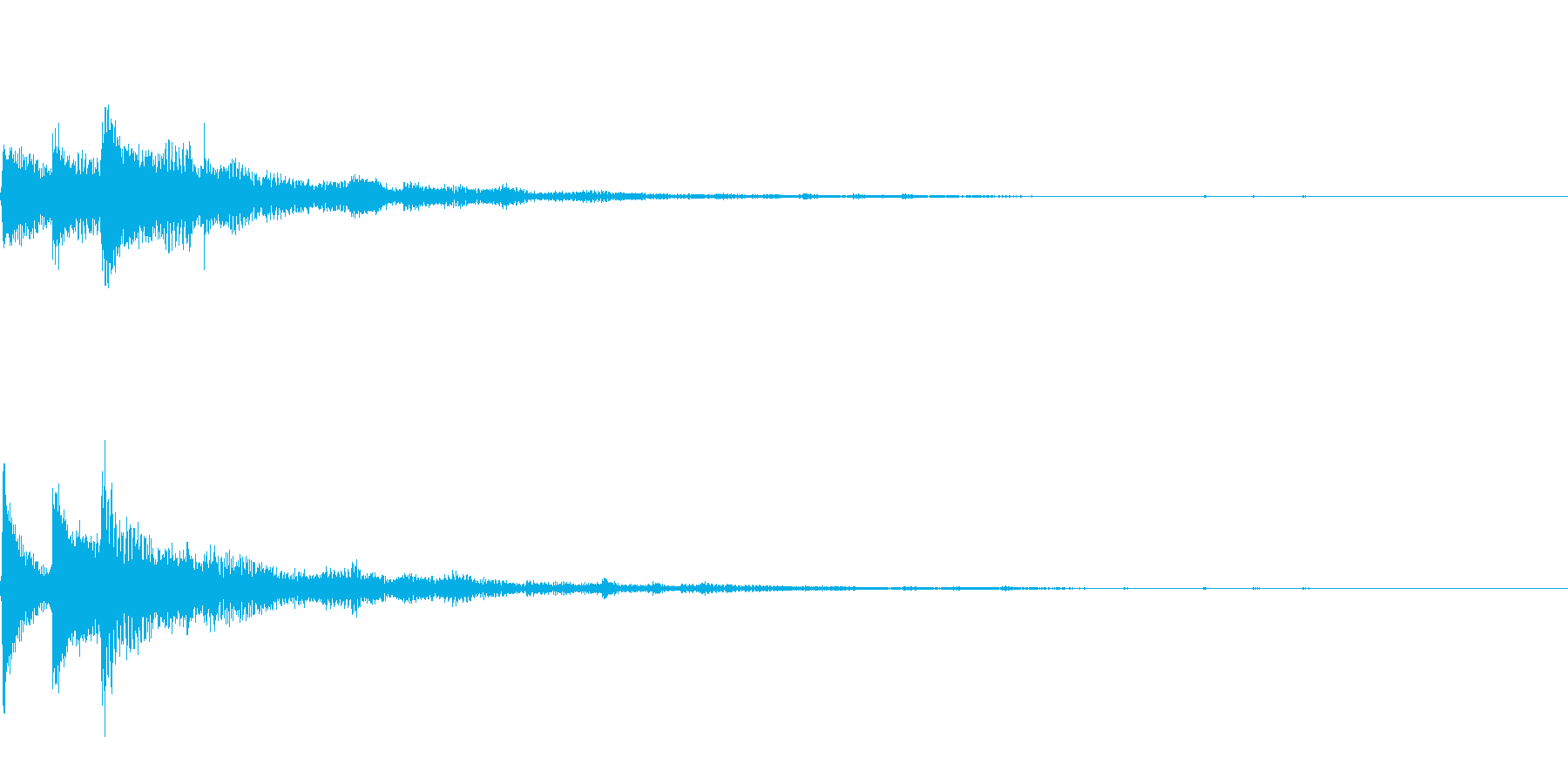 ぽろん♪(連鎖06)の再生済みの波形