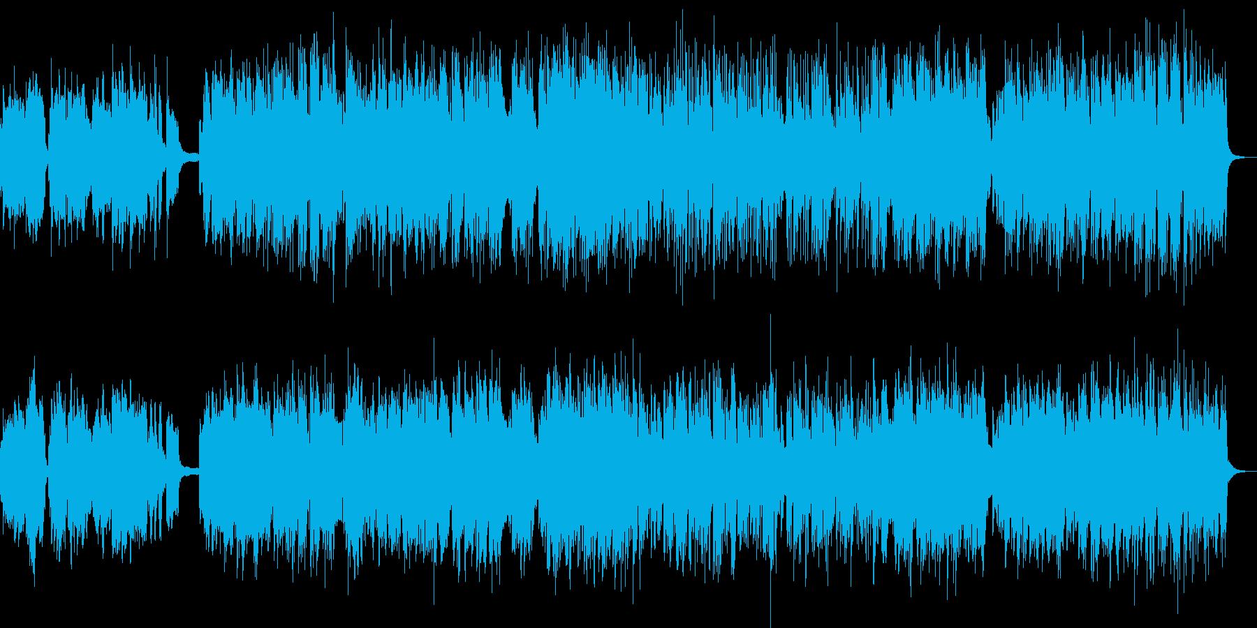 地中海の旅人ギター・ピアノ・バンドネオンの再生済みの波形