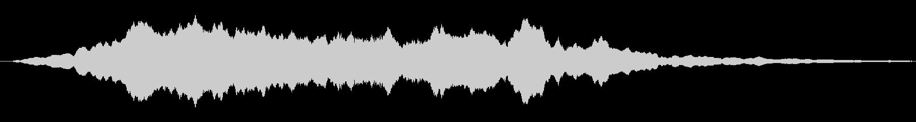 鋭い リンギングブリッター16の未再生の波形