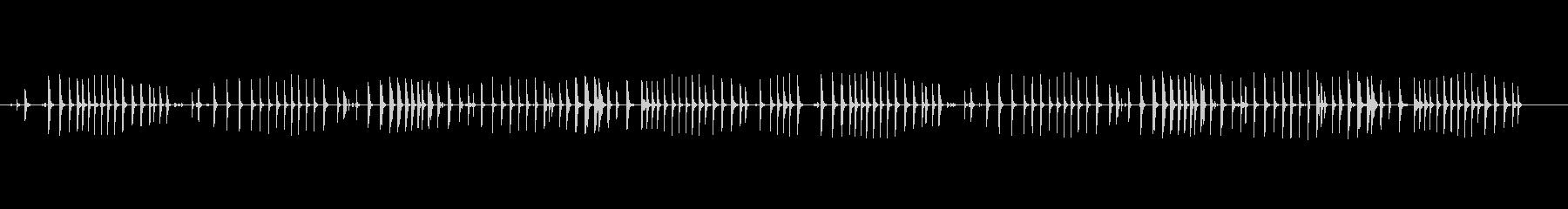 鍛冶屋0-50の未再生の波形