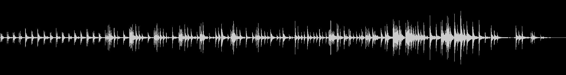 生ピアノソロ・星を見るの未再生の波形