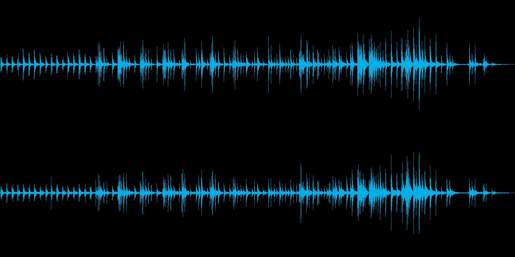 生ピアノソロ・星を見るの再生済みの波形