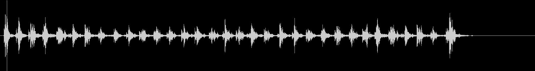 Xmasに最適トナカイベルのループ音10の未再生の波形