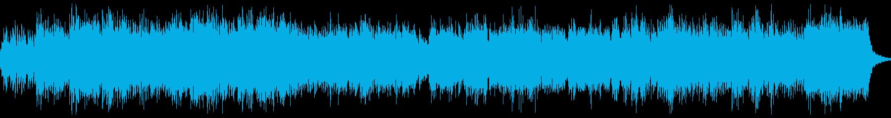 きらきらしたピアノとストリングスの幻想曲の再生済みの波形
