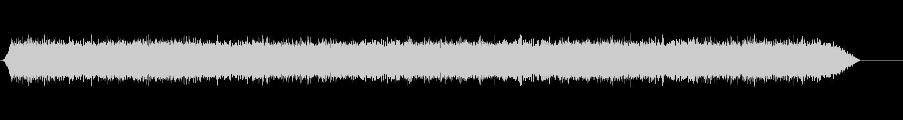 ナイアガラの滝の未再生の波形