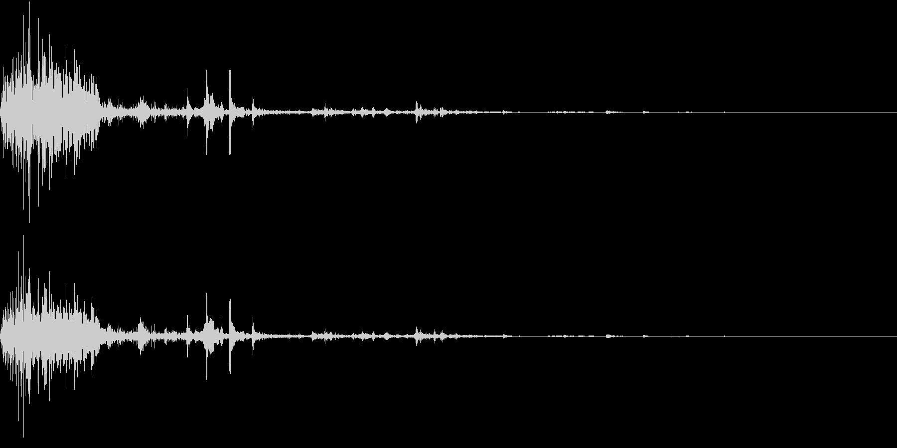 【生録音】ゴミの音 12 踏み潰すの未再生の波形