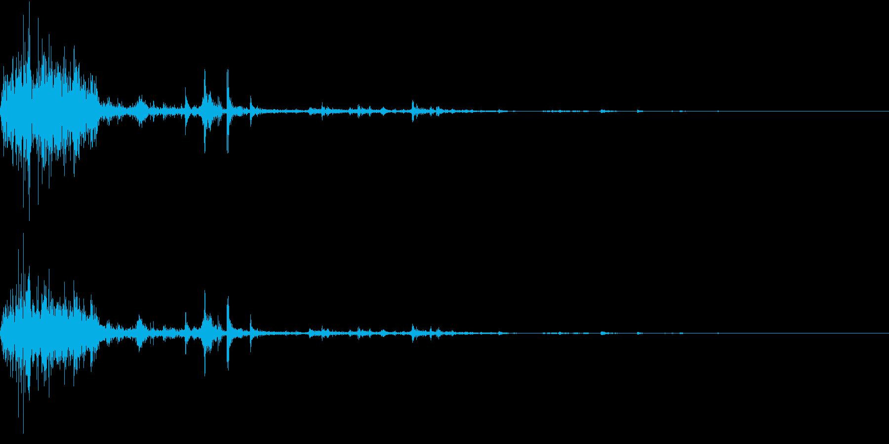 【生録音】ゴミの音 12 踏み潰すの再生済みの波形