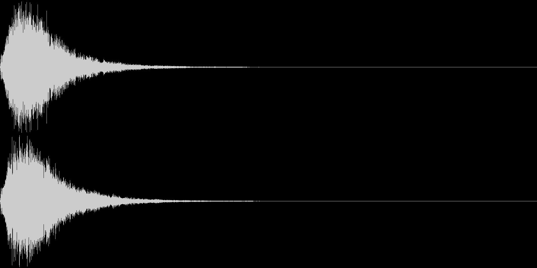 魔法 キラキラ 回復 ヒール系15の未再生の波形