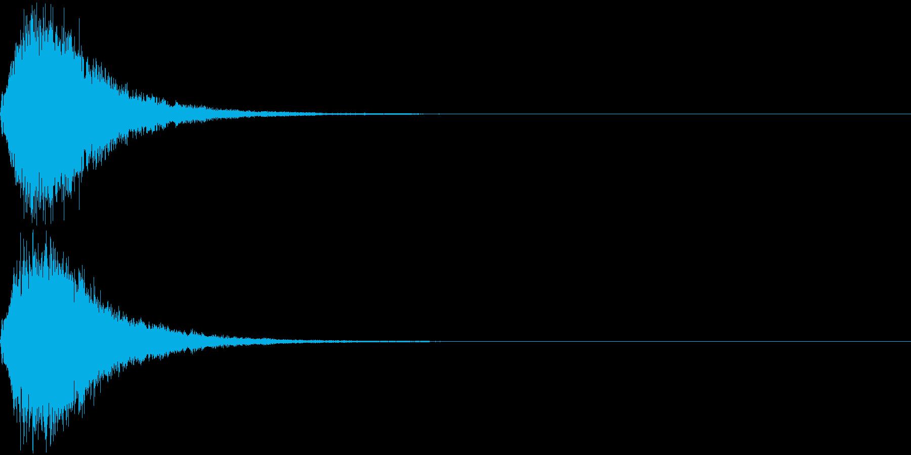 魔法 キラキラ 回復 ヒール系15の再生済みの波形