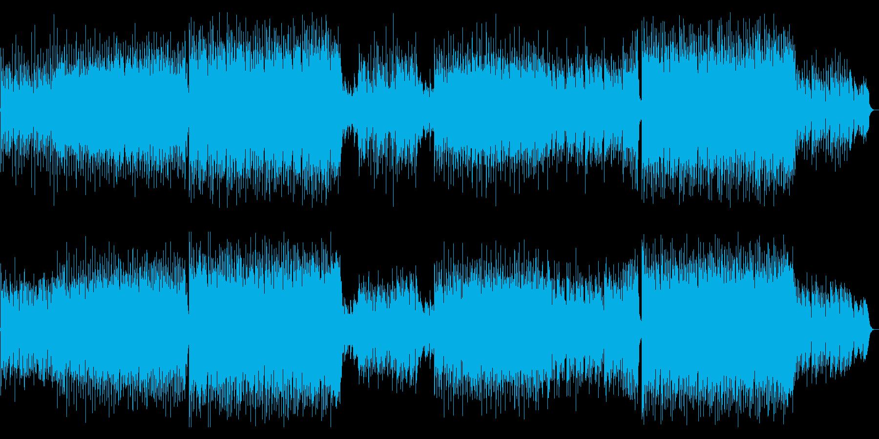 生アコギ!歓喜溢れる爽快なフォークポップの再生済みの波形