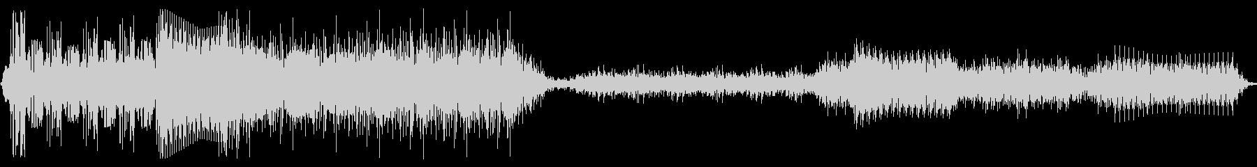 誤作動スワイプ1の未再生の波形