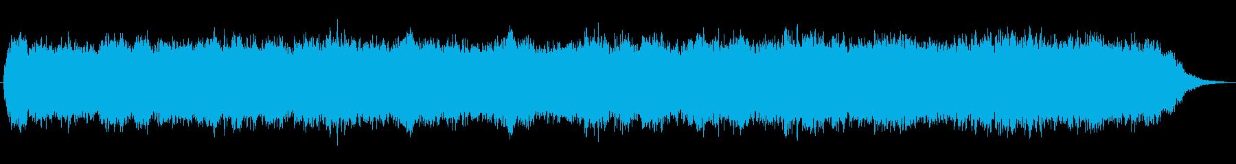 大人な雰囲気を醸し出すアンビエントBGMの再生済みの波形