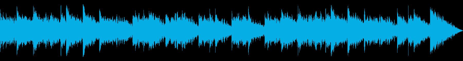 スローテンポの柔らかなサウンドの再生済みの波形